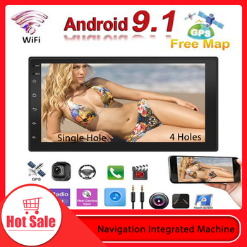Radio auto 2 Din Android Stereo Auto Touch Screen Multimedia Player Autoradio 2Din Ecran Tactil, GPS, WIFI, Bluetooth, FM Audio Auto